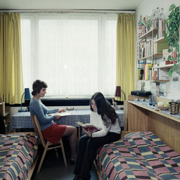Internat Jenny Marx Wohnheimzimmer, 1974