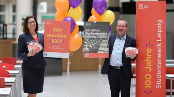 100 Jahre Studentenwerk Leipzig, Dr. Diekhof und Uwe Kubaile