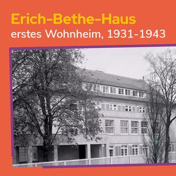 Erich-Bethe-Haus, erstes Wohnheim in Leipzig, 1931